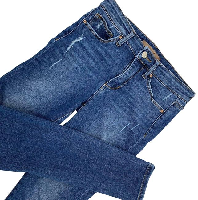 Item - Blue The Icon Mid Skinny Jeans Size 26 (2, XS)