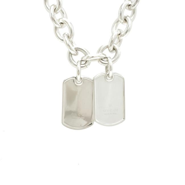 Item - Dog Tag Double Plate Sv925 Silver 153166 Necklace
