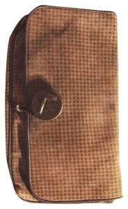 Lancel Dark Brown/Light Brown Clutch