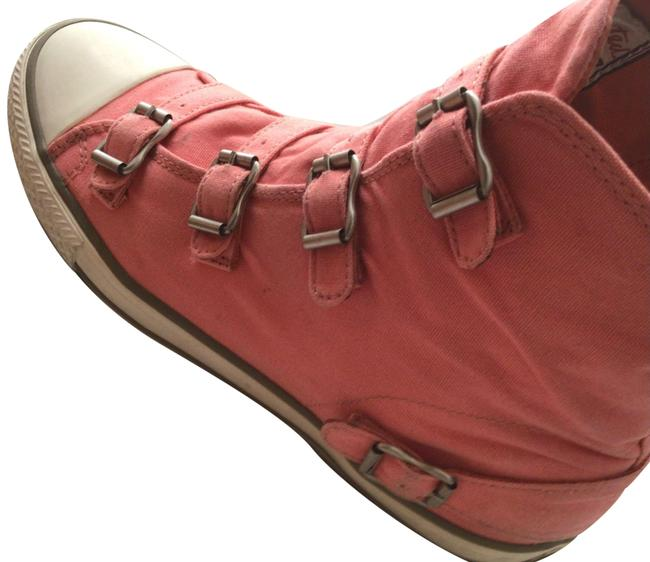 Item - Coral Virgin Buckled Canvas Sneakers Size US 10 Regular (M, B)
