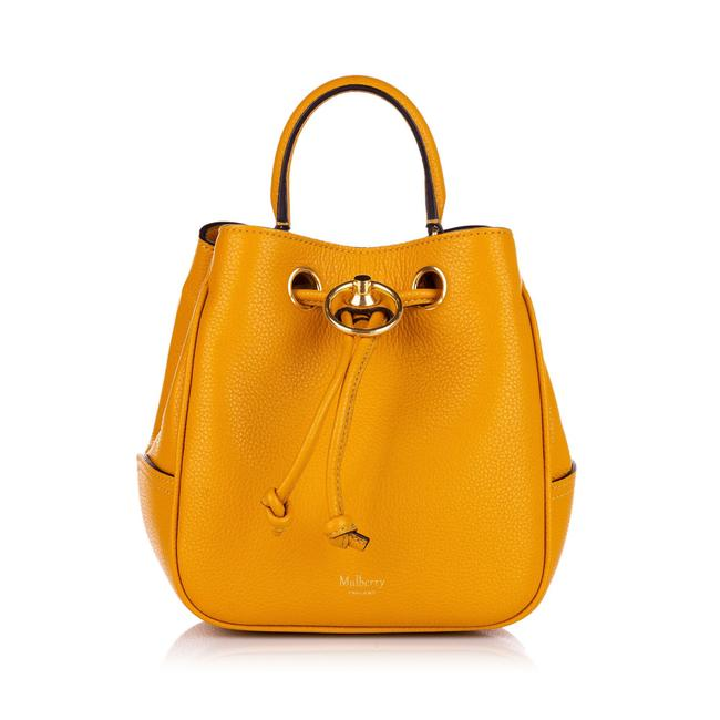 Item - Bucket Hampstead Small Yellow Leather Shoulder Bag