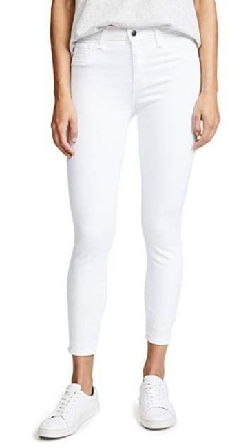 Item - White Blanc Margot High-rise Cropped Super Skinny Jeans Size 32 (8, M)
