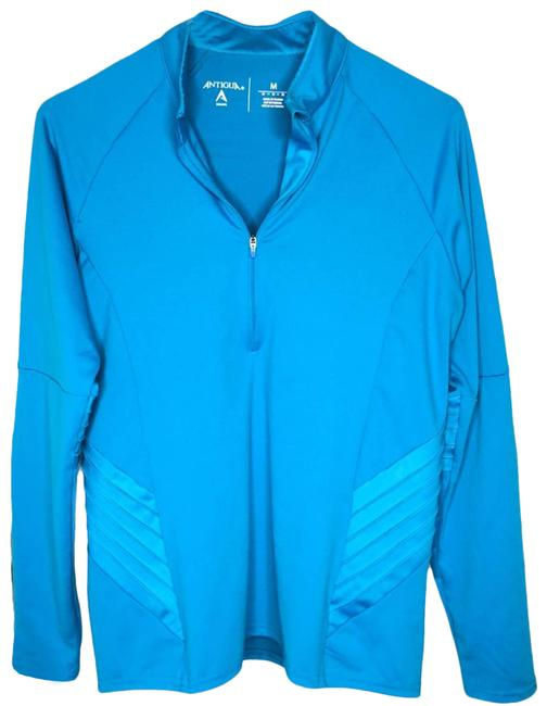 Item - Blue Teal Long Sleeve Sport M Activewear Top Size 8 (M)