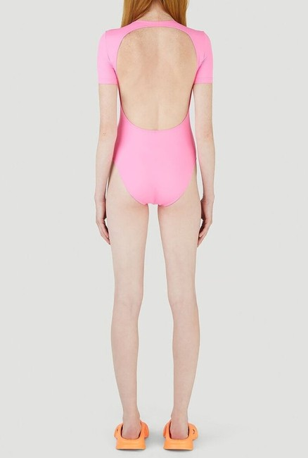 Balenciaga Pink Open Back Swimsuit One-piece Bathing Suit Size 8 (M) Balenciaga Pink Open Back Swimsuit One-piece Bathing Suit Size 8 (M) Image 4