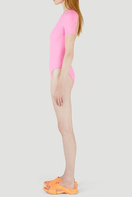 Balenciaga Pink Open Back Swimsuit One-piece Bathing Suit Size 8 (M) Balenciaga Pink Open Back Swimsuit One-piece Bathing Suit Size 8 (M) Image 5