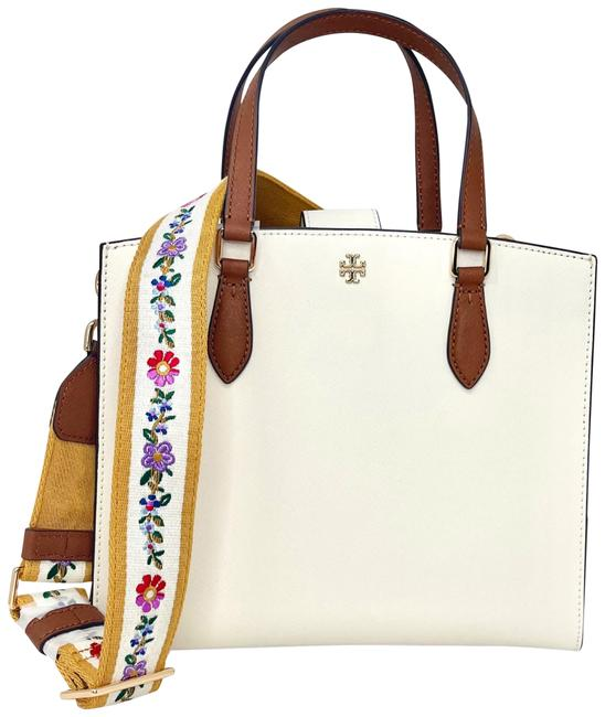 Item - Emerson Sc Structured Work New Ivory Saffiano Leather Satchel