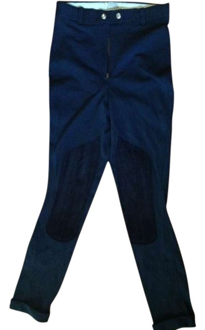 Preload https://img-static.tradesy.com/item/294470/navy-blue-black-leather-knees-patches-size-2-xs-26-0-0-650-650.jpg