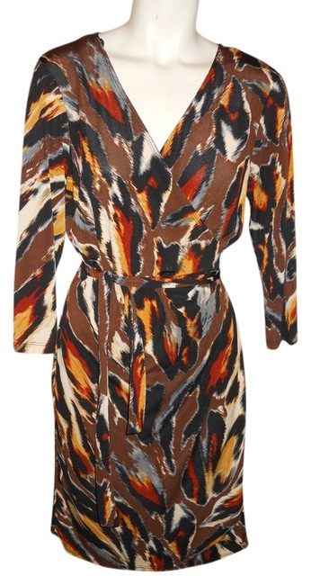 Preload https://item3.tradesy.com/images/emma-and-michele-black-brown-multi-print-knit-wrap-knee-length-workoffice-dress-size-8-m-2944732-0-0.jpg?width=400&height=650