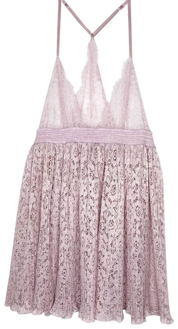 Item - Lavender Lace Sheer Teddy Nightie Lingerie Tank Top/Cami Size 0 (XS)