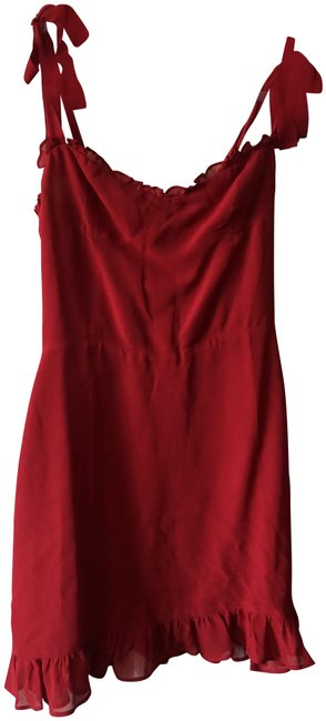Item - Red Christine Short Casual Dress Size 8 (M)