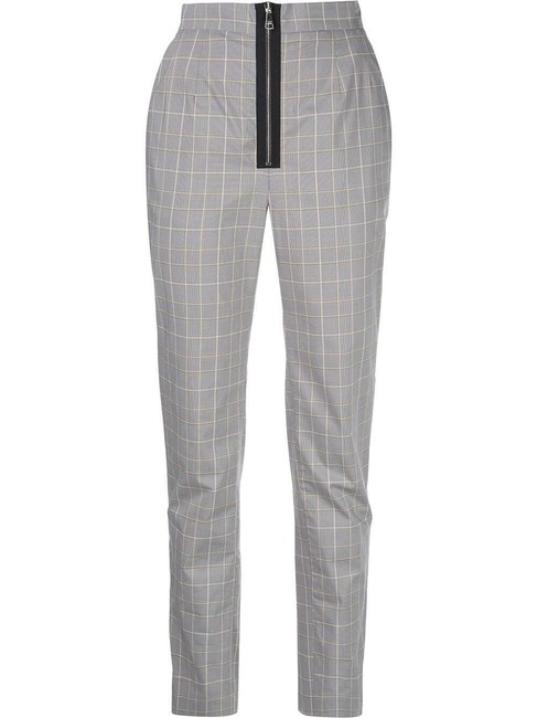 Item - Grey Black 36 Checkered High-waisted Pants Size 4 (S, 27)