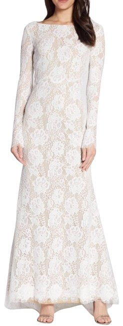 Item - Cream By Lace Long Sleeve Wedding Formal Dress Size 10 (M)