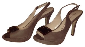 Sacha London Taupe Pumps