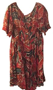 Rialto Sheer Floral Coverup Dress