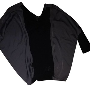 Anama Top Black And Grey