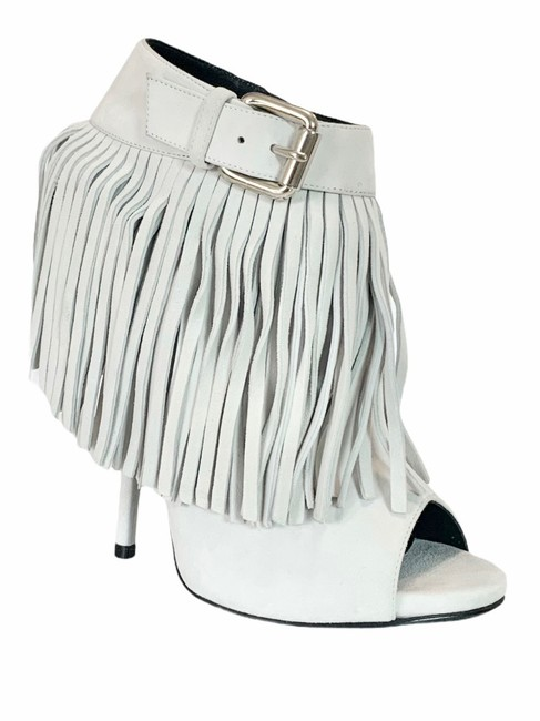 Item - White Sand Boots/Booties Size EU 37.5 (Approx. US 7.5) Regular (M, B)