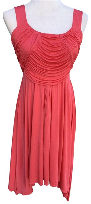 Item - Pink Na Mid-length Short Casual Dress Size 4 (S)