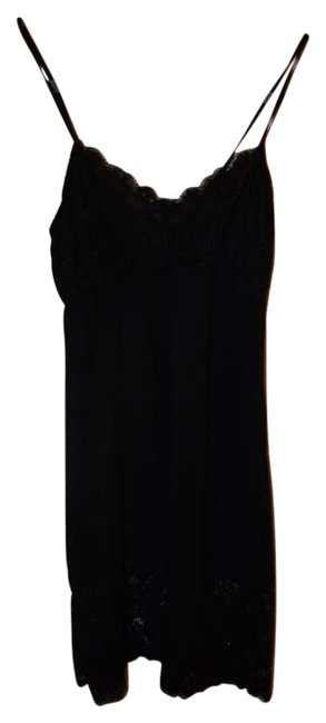 Preload https://item4.tradesy.com/images/honeydew-intimates-black-lingerie-sleepwear-lace-chemise-mid-length-short-casual-dress-size-8-m-2945203-0-0.jpg?width=400&height=650