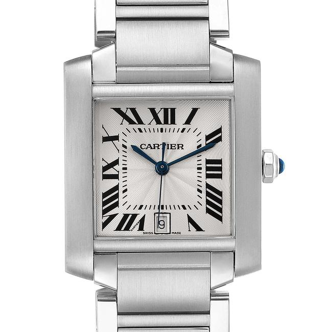 Item - Silver Tank Francaise Large Steel Mens W51002q3 Watch