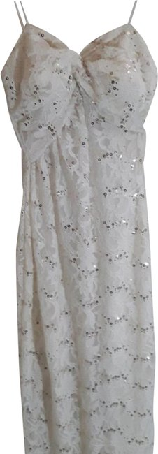 Item - Ivory Strapless Wedding Gown Long Formal Dress Size 2 (XS)