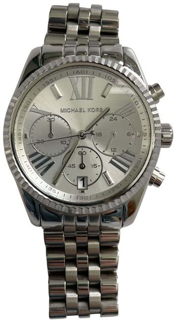 Item - Stainless Steel Silver Lexington Chronograph Ladies Watch