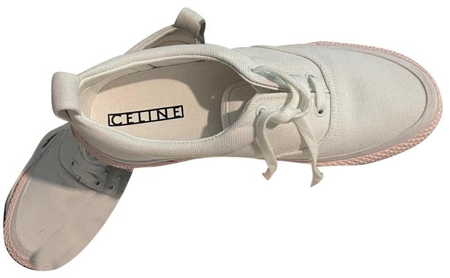 Item - White Lace Up Sneakers Size EU 39 (Approx. US 9) Regular (M, B)