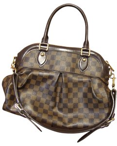 Louis Vuitton Canvas Tote in Brown Damier
