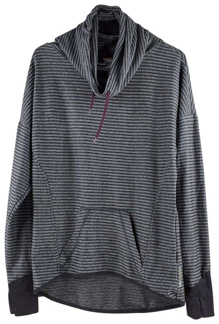 Item - Gray Cowl Neck Sweater Activewear Top Size 4 (S)
