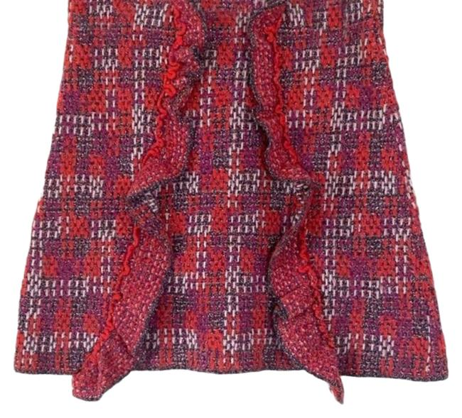Item - Pink Wool Cotton Co-ord Skirt Size 8 (M, 29, 30)