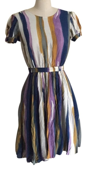 Andrew Marc Multicolor Above Knee Short Casual Dress Size 4 (S) Andrew Marc Multicolor Above Knee Short Casual Dress Size 4 (S) Image 1