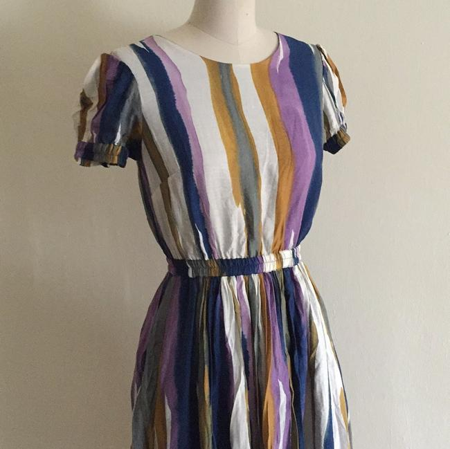 Andrew Marc Multicolor Above Knee Short Casual Dress Size 4 (S) Andrew Marc Multicolor Above Knee Short Casual Dress Size 4 (S) Image 2