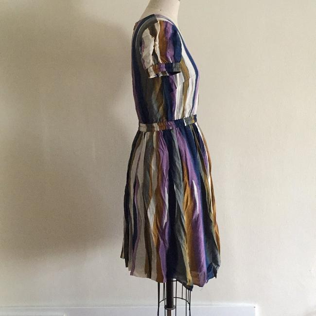 Andrew Marc Multicolor Above Knee Short Casual Dress Size 4 (S) Andrew Marc Multicolor Above Knee Short Casual Dress Size 4 (S) Image 5