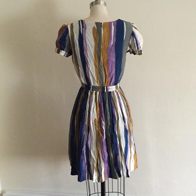 Andrew Marc Multicolor Above Knee Short Casual Dress Size 4 (S) Andrew Marc Multicolor Above Knee Short Casual Dress Size 4 (S) Image 6