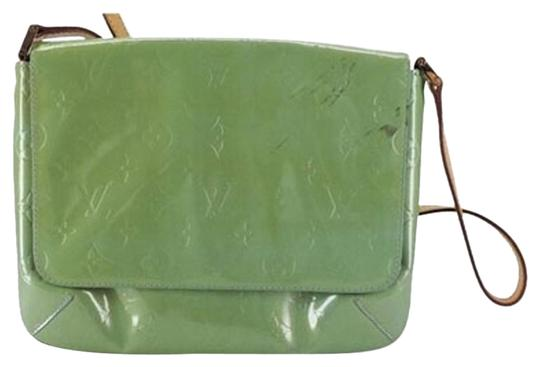 Preload https://item2.tradesy.com/images/louis-vuitton-vernis-monogram-classic-flap-lvmlm8-b165583-green-shoulder-bag-2945866-0-3.jpg?width=440&height=440