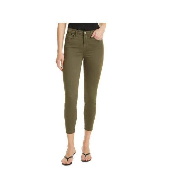 Item - Green Margot Crop High Rise Skinny Jeans Size 27 (4, S)