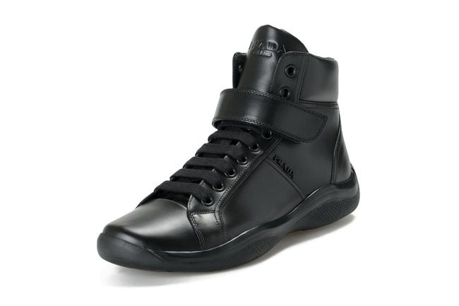"""Item - Black Men's """"4t2789"""" Leather Ankle Boots/Booties Size US 8 Regular (M, B)"""