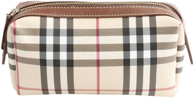 Item - Cosmetic Pouch Haymarket Check Multicolor Coated Canvas Weekend/Travel Bag