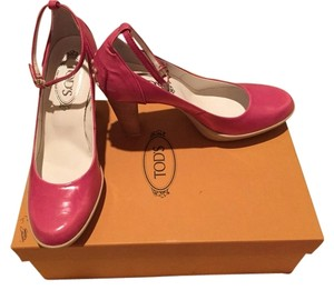 Tod's Fuschia Pumps