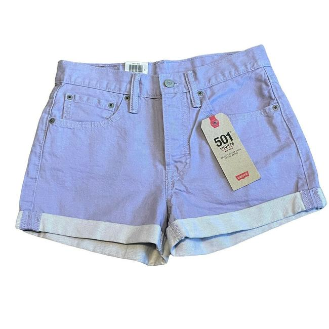 Item - Purple Button Fly 501 Shorts Size 8 (M, 29, 30)