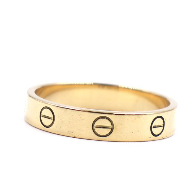Item - #42700 Yellow 18k Gold Love Band 3.5mm Wide Size 59 9.25 Ring