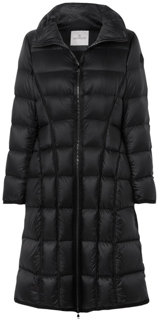Item - Black Bellevalia Quilted Shell Down Coat Size 8 (M)