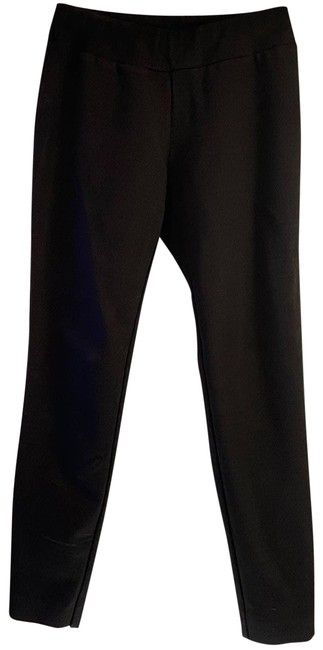 Item - Black Abstract Pull On Pants 4 Activewear Bottoms Size 8 (M, 29, 30)