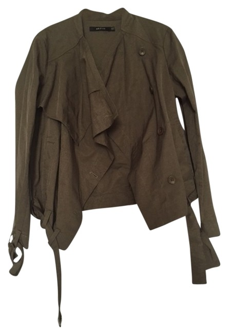Ark & Co. Army Green Jacket Size 8 (M) Ark & Co. Army Green Jacket Size 8 (M) Image 2