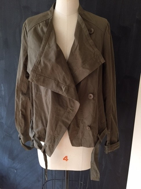 Ark & Co. Army Green Jacket Size 8 (M) Ark & Co. Army Green Jacket Size 8 (M) Image 7
