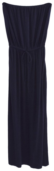 Item - Blue Strapless #196-1 Long Casual Maxi Dress Size 2 (XS)