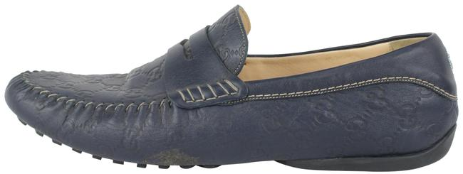 Item - Blue 170618 Leather ssima Loafer 155ggs79 Formal Shoes Size US 10.5 Regular (M, B)