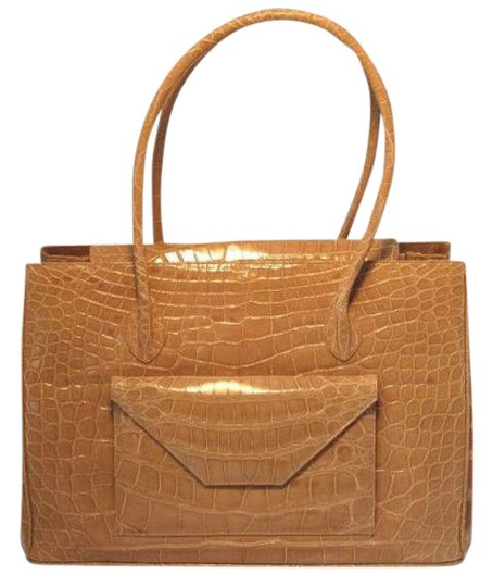 Preload https://img-static.tradesy.com/item/294670/alexandra-knight-tan-alligator-skin-satchel-0-0-540-540.jpg