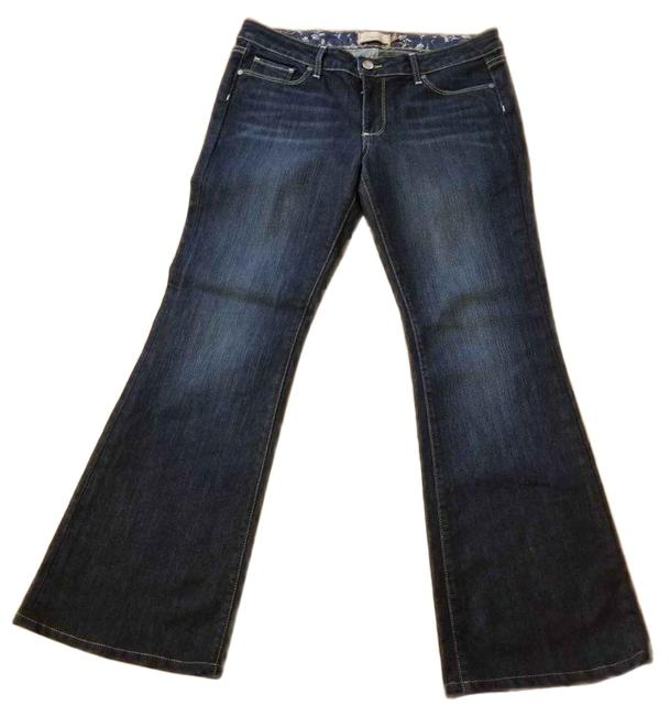 Item - Blue Dark Rinse Hollywood Hills Boot Cut Jeans Size 31 (6, M)