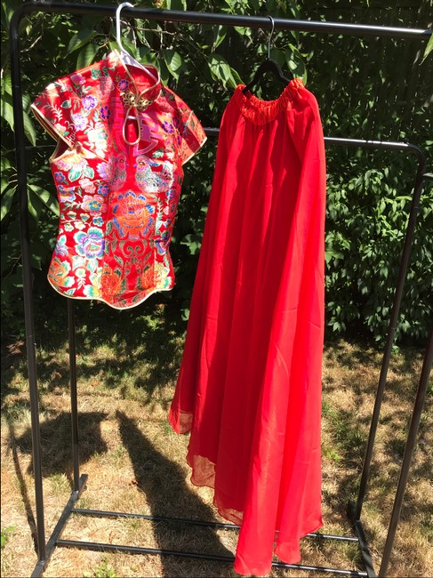 Item - Red Chinese Traditional Wedding Dress Size 4 (S)