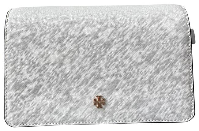 Item - Emerson Combo New Ivory Leather Cross Body Bag